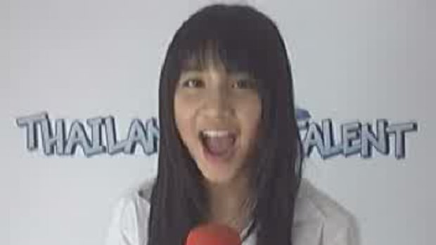thailand talent : น้องเกรซโชว์ร้องเพลง