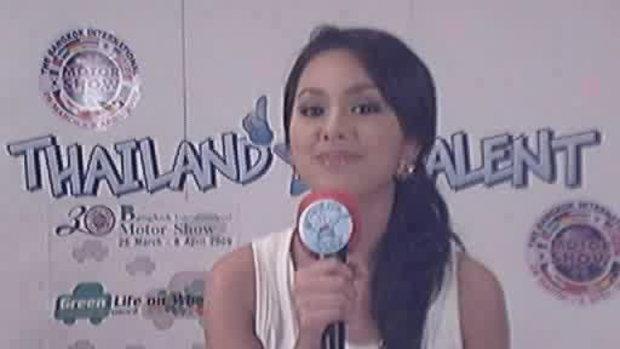 thailand talent : น้องนายน์โชว์ร้องเพลง
