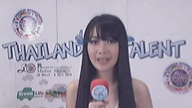 thailand talent : น้องแนนโชว์ร้องเพลง