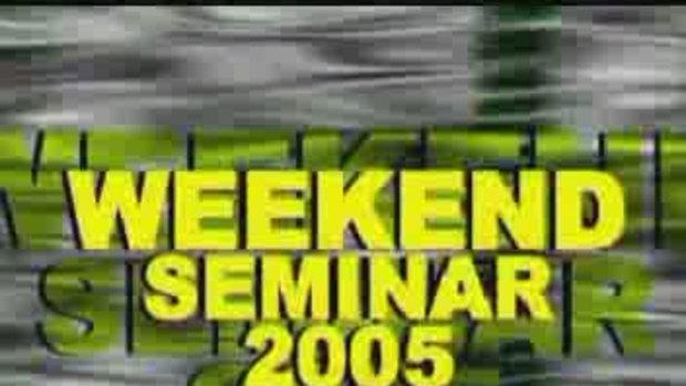Weekend seminar