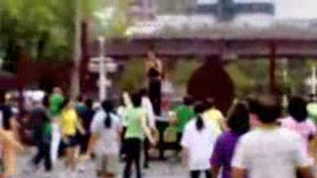 คนสวนลุม 11สวนใหญ่หัวใจของคนกรุงเทพฯที่มีคนมาออกกำ