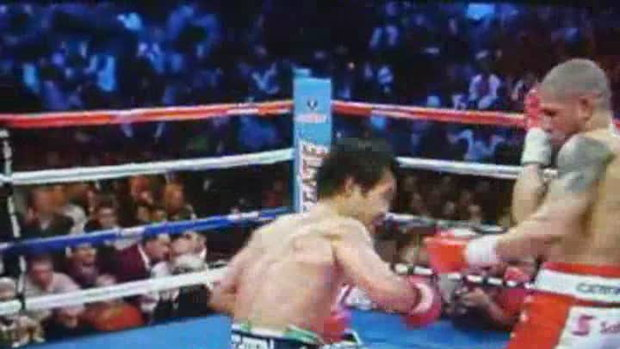 Pacquiao Knocks Cotto on the 12th Round