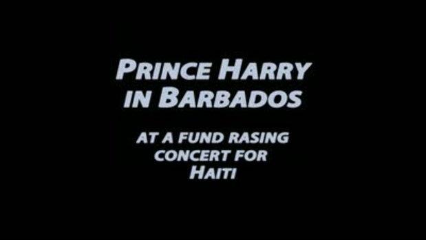 เจ้าชายแฮร์รี่แดนซ์แนวบ้านๆ ช่วยเฮติ
