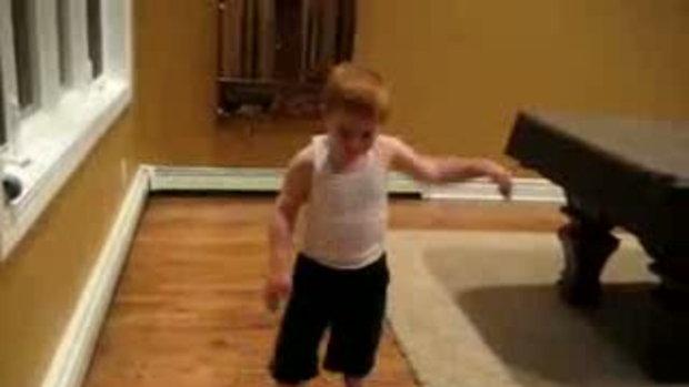 ลีลาเหลือร้าย เด็ก 5 ขวบ เต้น เบรกแดนซ์