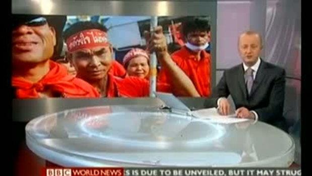 ข่าวเสื้อแดงในต่างประเทศ จากช่อง BBC
