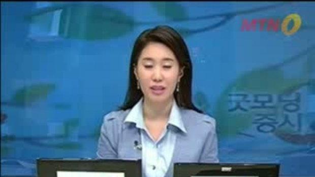 นักข่าว สาวเกาหลี เป็นลม กลางรายการ