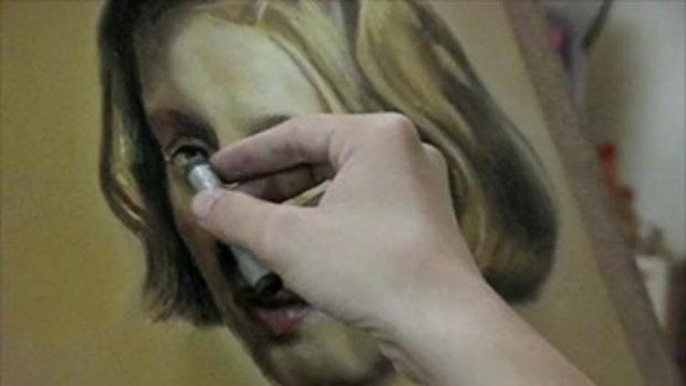 สอนศิลปะ  วาดเส้น เขียนภาพคนเหมือน