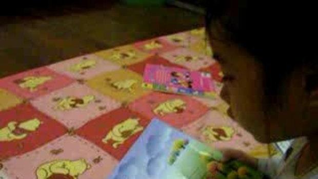 เด็ก 3 ขวบ 5 เดือน อ่านหนังสือ ตอน 1