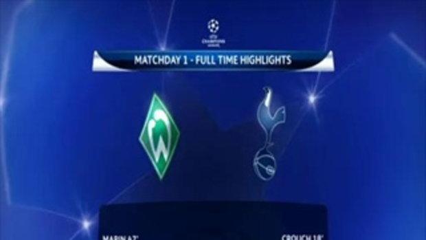 Werder Bremen 2 - Tottenham 2