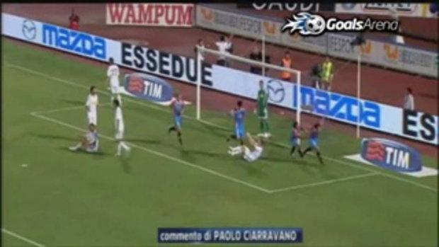Catania 2-0 Cesena
