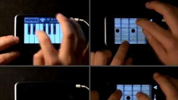 iPhone ad music using Pianist and Guitarist