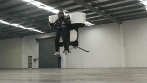 มนุษย์บินได้!!