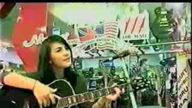 ชมพู่อารยาร้องเพลงthedayyou went awayน่ารักมาก