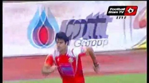 ศรีสะเกษ เมืองไทย เอฟซี 4-0 ทีทีเอ็มฯ พิจิตร