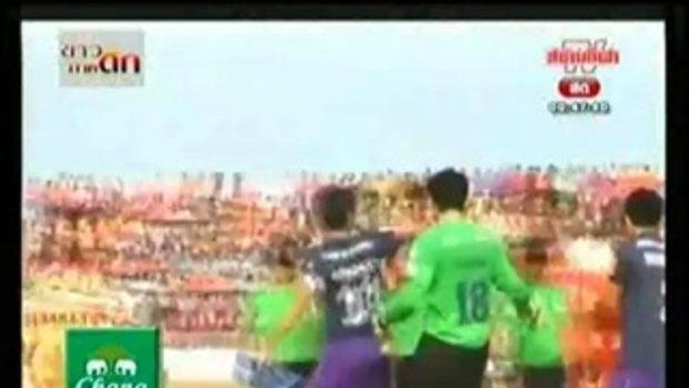 ศรีสะเกษ เมืองไทย เอฟซี 0-3 บุรีรัมย์ พีอีเอ