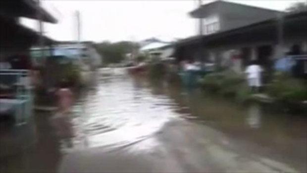 น้ำท่วมระนอง