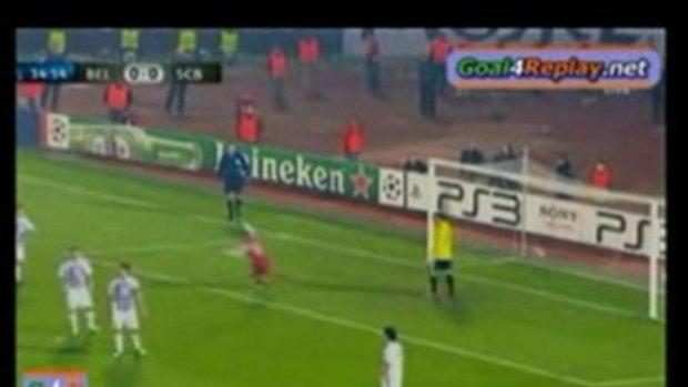 ปาร์ติซาน เบลเกรด 0-1 บราก้า
