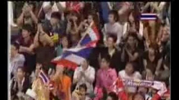 ตะกร้อสาวไทยเหรียญทอง เอเชี่ยนเกมส์