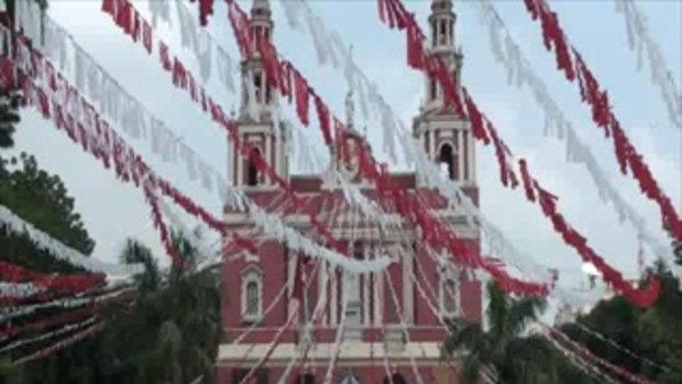 เจโอ๋เวสป้าผจญภัย-เที่ยวโบสถ์คริสต์ในอินเดีย