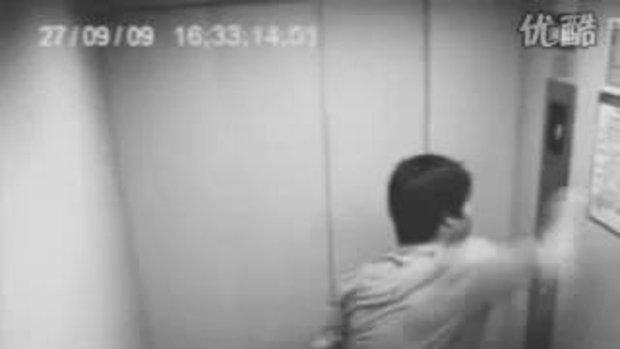 หลุดแอบถ่ายในลิฟท์ ที่ประเทศจีน