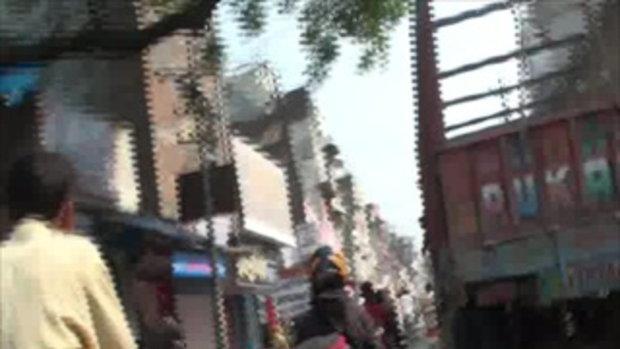 เจโอ๋เวสป้าผจญภัย-รถติดกลางเมือง(อินเดีย)