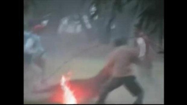นาทีระทึก เสือดาว หลงป่าทำร้ายชาวอินเดียเจ็บระนาว