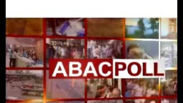 ABAC Poll - ผลงานรัฐบาลนายก อภิสิทธิ์ 2/3
