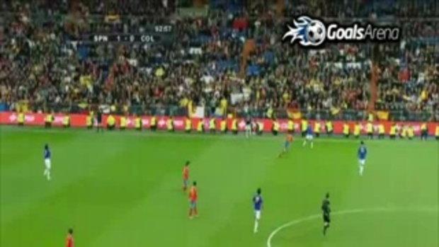 สเปน 1-0 โคลัมเบีย