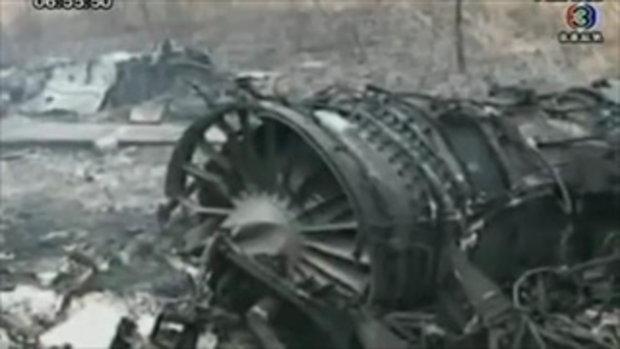 เอฟ 16 สองเครื่องตกที่ชัยภูมิ