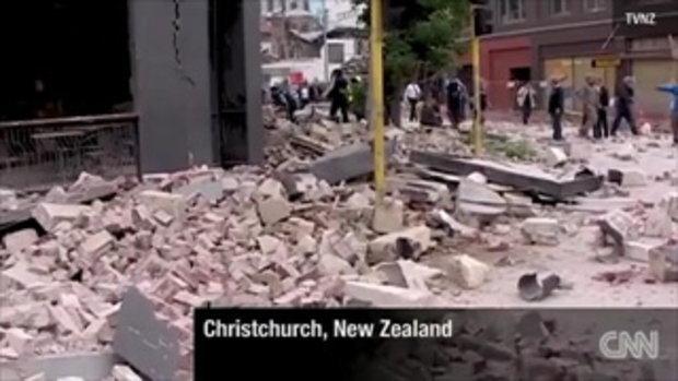 แผ่นดินไหว 6.3 ริกเตอร์ เมืองไครสต์เชิร์ช นิวซีแลน