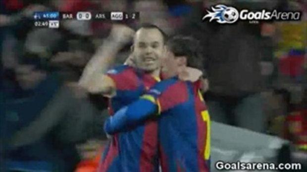 บาร์เซโลน่า 3-1 อาร์เซนอล ยูฟ่า แชมเปี้ยนส์ ลีก