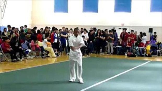 กางเกงหลุดกลางเวทีแข่งวูซู
