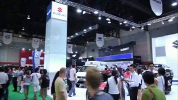 จัดเต็ม! สาว motor show 2011 - Subaru