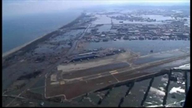 สนามบินเมืองเซนได เปิดบริการแล้ว