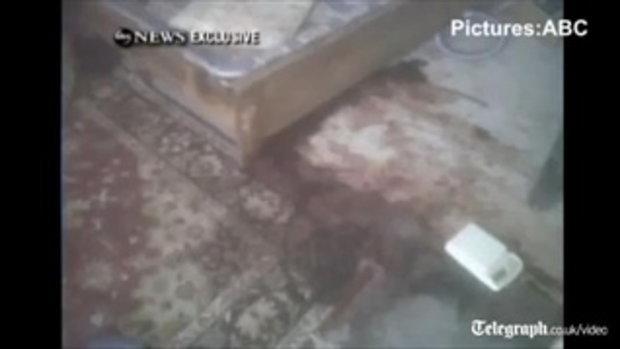 ห้องพัก บิน ลาดินหลังโดนถล่ม