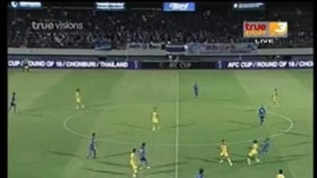 Chonburi FC 3-0 Sriwijaya AFC CUP