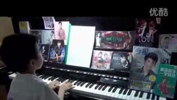 เด็กน้อยชาวจีน เล่นเปียโน รักแท้มีอยู่จริง ของบี้