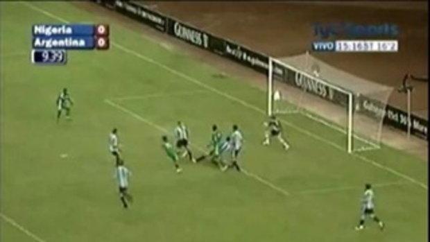 ไนจีเรีย 4-1 อาร์เจนตินา (กระชับมิตรทีมชาติ)
