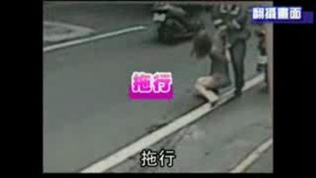 ตำรวจโหด! ซ้อมนางแบบสาวชาวไต้หวัน