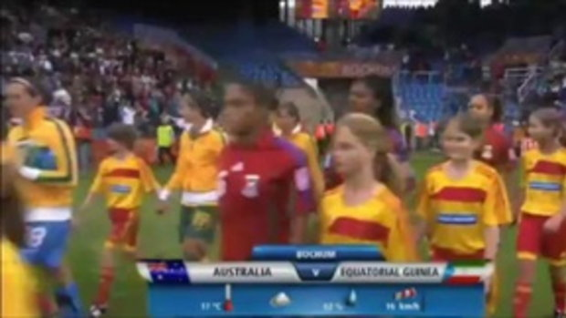 Australia vs Equatorial Guinea (Women's World Cup 2011)