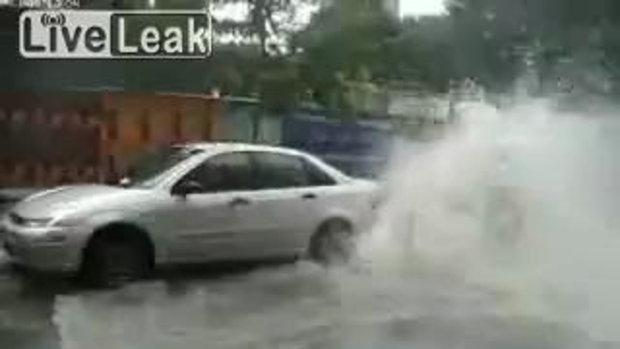 คำเตือน! ระวังอันตรายในการจอดรถ 555+