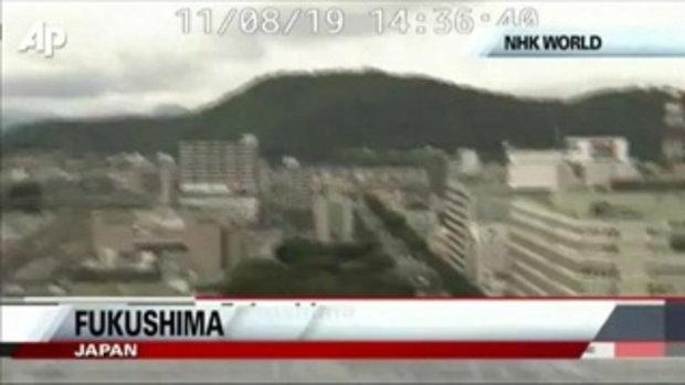 ด่วน! แผ่นดินไหว 6.8 ริกเตอร์ ฟูกุชิม่า ญี่ปุ่น