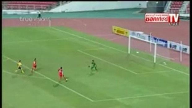 ไทย 0-0 สิงคโปร์ กระชับมิตรทีมชาติ
