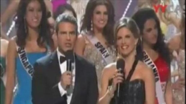 นาทีประกาศผล Miss Universe 2011