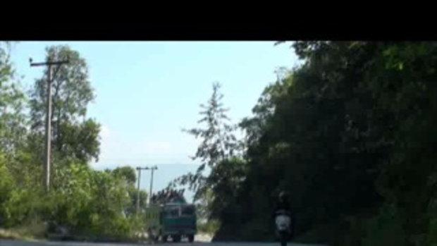 เจโอ๋เวสป้าผจญภัย-รถขึ้นเขา ด่านโคดาริ  เนปาล  Kodari Nepa