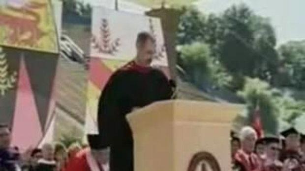 ไว้อาลัยแด่ สตีฟ จ๊อบ ขึ้นพูดที่มหาลัย Stanford ซับไทย