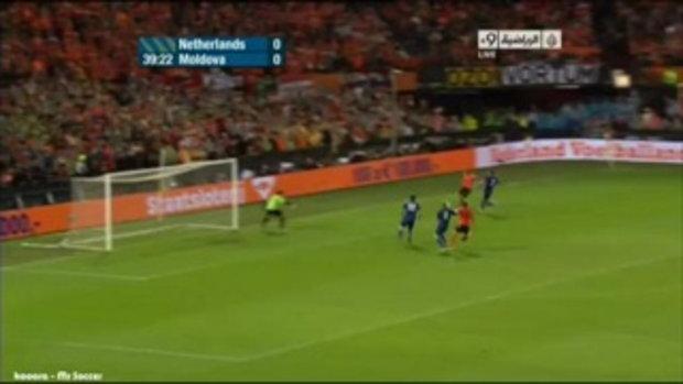 ไฮไลท์ฟุตบอลยูโร 2012 รอบแบ่งกลุ่ม ฮอลแลนด์ 1-0 มอลโดว่า