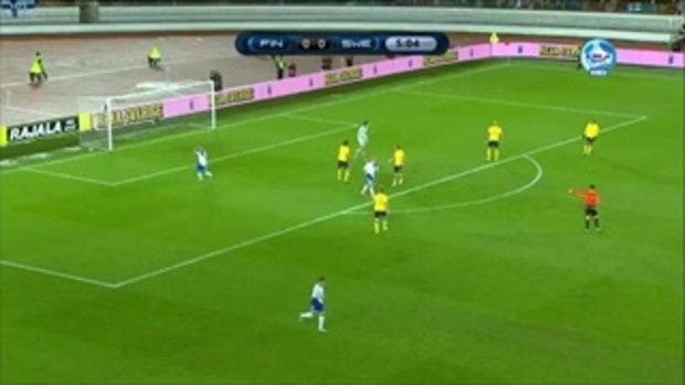 ไฮไลท์ฟุตบอลยูโร 2012 รอบแบ่งกลุ่ม ฟินแลนด์ 1-2 สวีเดน