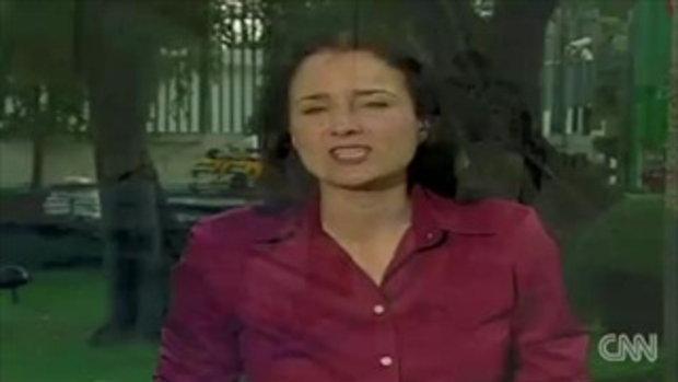 CNN รายงานน้ำท่วมดอนเมือง จ่อคอหอย กทม