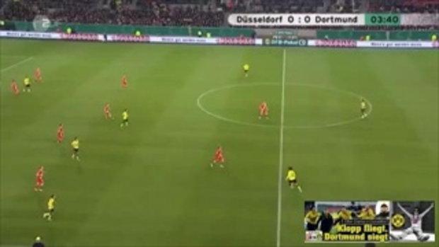 ดุสเซลดอร์ฟ 0-0 ดอร์ทมุนด์ (เดเอฟเบโพคาล)